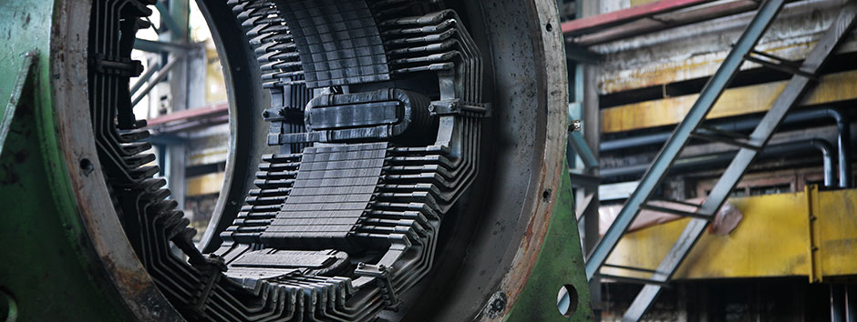Repair of industrial electric motor